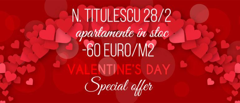 Ofertă specială pentru tuturor îndrăgostiților