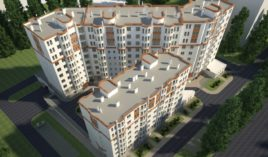 Жилой комплекс с гаражами и обустроенной территорией, бул. Mирча чел Бэтрын, 50